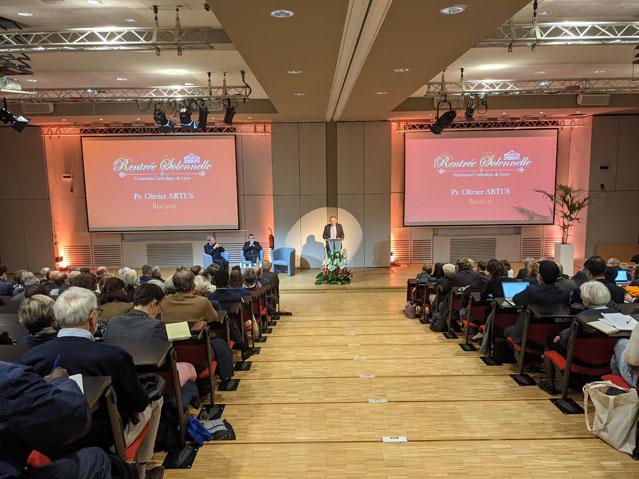 Conférence de Rentrée Solennelle 2021